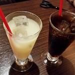 トリコ - グレープフルーツジュースとコーラ