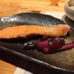 河一屋旅館 - 焼鮭