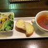 ristrante passo - 料理写真:サラダとパンとスープ付き!