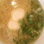黄金の塩らぁ麺 ドゥエイタリアン - らぁ麺フロマージュ