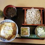味奈登庵 - 2014'8/16  かつ丼セツト