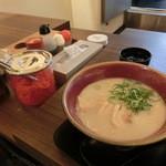 久留米とんこつしぼり 満洲屋が一番 - とんこつ(770円)