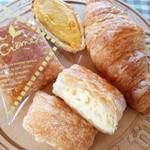 ルシェハッタ - 料理写真:スイートポテト、クロワッサン、ミルフィーユ。