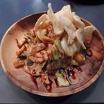 37439158 - 温野菜のサラダピーナッツソース(ガドガドサラダ)