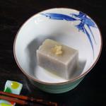 蕎麦屋まこと - 蕎麦豆腐