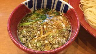中華そば うえまち - つけ麺のつけ汁