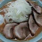 ラーメンのこじま - 味噌玉ねぎチャーシュー麺¥874