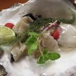 すし善 - 岩牡蠣