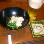 Sumibiwashokuso - お通し