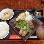 くれおーる - 豚生姜薬定食