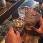 駒川ホルモン - 乾杯!