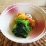 ノノナ - 野菜とつくねの煮物椀