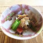 ノノナ - 酢の物 玉ねぎ、ごぼう、カリフラワー、ほうれん草、金時人参