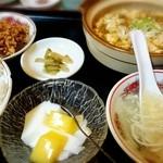 台湾料理 龍泉 - 麻婆豆腐定食