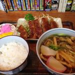 湊庵 - そば定食850円 http://s.ameblo.jp/minori-111/entry-12020574714.html
