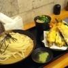 麺蔵 - 料理写真:天ぷらざるうどん大盛り1080円