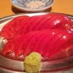 焼鶏 炭吉 - スライストマト