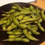 焼鶏 炭吉 - 枝豆
