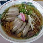 みぶうどん - チャーシュー麺