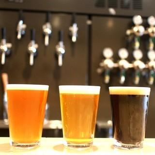 京橋でクラフトビール飲み放題はここだけ!