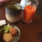 白樺 - 【朝食】雪下人参ジュース