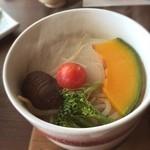 白樺 - 【朝食】蒸し野菜