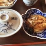 白樺 - 【朝食】焼魚はノドグロ一夜干し