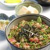 水門まつり - 料理写真:ねぎとろ丼定食 1500円