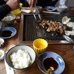 峠の茶屋 - 料理写真:ステーキ定食のセット物です。