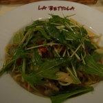 ラ・ベットラ・ダ・オチアイ - 彩り野菜のバーニャソース スパゲティ