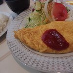 37450107 - オムレツ定食700円