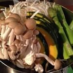 37450328 - 野菜盛り合わせ