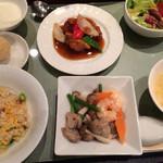 愛蓮 - お昼のランチセット(´▽`)