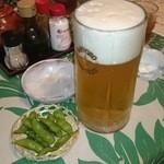 にっぽんの洋食 江戸一 - 2014/08/06 12:05訪問 生ビール大\750