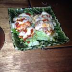 名古屋めし居酒屋てしごと家 - 鶏肉チーズ焼き