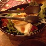 名古屋めし居酒屋てしごと家 - 柚子ドレッシングの豆腐サラダ