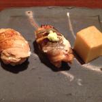 鮨 生粋 - 穴子を2種の食べ方で