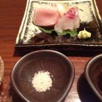 鮨 生粋 - ここからは個室の際の料理となります