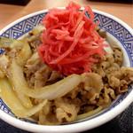 吉野家 - 料理写真:紅生姜の山盛もお約束(^^)