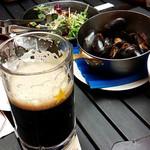 銀座ライオン - ムール貝と黒ビール