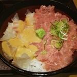 鮨 清山 - ランチのネギトロ、鯛の小丼❤