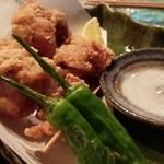 遊家comeon - 鶏モモ唐揚げ