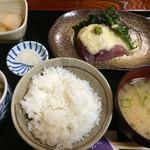 神楽 - 日替わり定食 鮪山かけ 780円