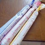 ムーミンハウスカフェ - おみやげのニョロニョロドーナツ3本