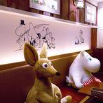 ムーミンハウスカフェ - 店内にはキャラがいっぱい♪