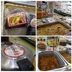 おべんとうのヒライ - お総菜やお弁当など沢山並んでいますし、うどんや定食を頂けるお店も併設されています。