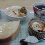 カフェ・イースト - モーニングセット