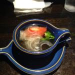 れすとらん池 - 料理写真:セットのコンソメスープ。