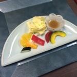 日本料理松風庵 - 前菜。