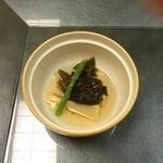 日本料理松風庵 - 筍。